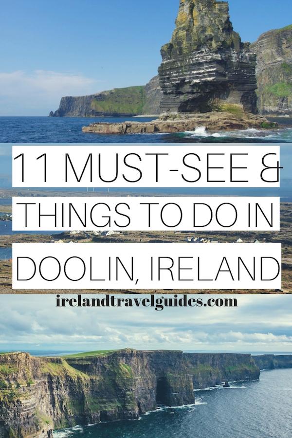 11 THINGS TO DO IN DOOLIN IRELAND | IRELAND TRAVEL GUIDE | IRELAND TRAVEL IDEAS | IRELAND TRAVEL DESTINATIONS | THINGS TO DO IN IRELAND | DOOLIN TRAVEL | IRELAND TRAVEL TIPS #ireland #doolin #europe #travel