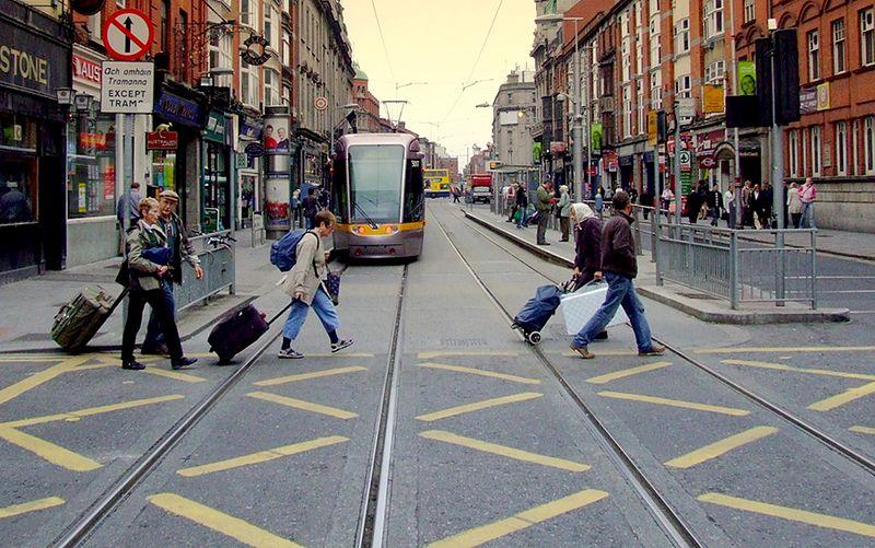 Abbey Street Dublin Ireland
