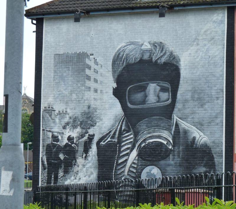 Bogside Murals Derry