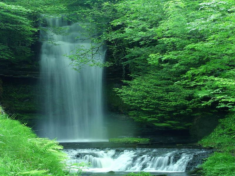 Glencar Waterfall Lough Letrim