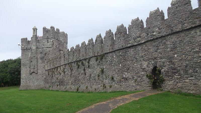 Swords Castle in Dublin