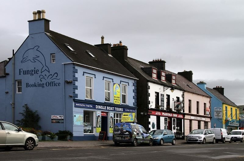 The Marina Inn's pub