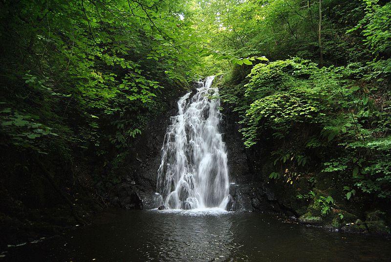 Glenoe Waterfall Ireland