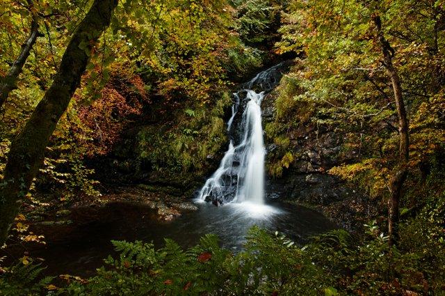Tourmakeady Waterfall